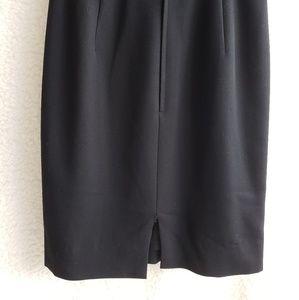 Valentino Dresses - VALENTINO Black Short Sleeve Sheath Dress